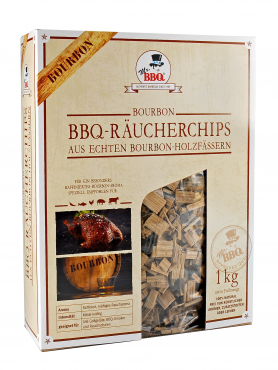 Räucherchips,  BBQ Wood Chips BOURBON von Mr. BBQ®