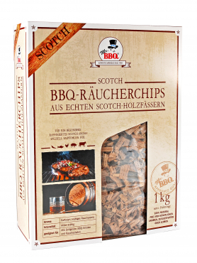 Räucherchips,  BBQ Wood Chips SCOTCH von Mr. BBQ®