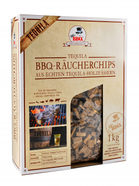 Räucherchips, BBQ Wood Chips TEQUILA von Mr. BBQ®