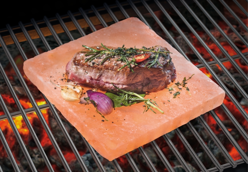 Mr. BBQ® Salzstein BBQ-Planke small